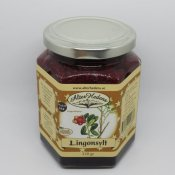Alterhedens raw stirred cranberry jam 320 Gramm, 70% fruit
