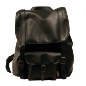 Backpack Leather of Reindeer Black