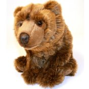 Stuffed animal bear 33 cm
