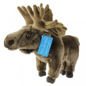 Stuffed animal Moose 33 cm