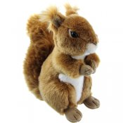 Stuffed animal squirrel 16,5 cm