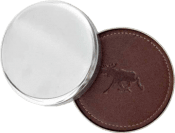 Coasters Leather of Moose