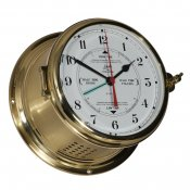 Schatz 1881 Royal 180 tide clock brass arabic