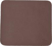 Mousepad Leather of Moose Brown