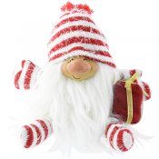 Santa Claus with parcel 22 cm