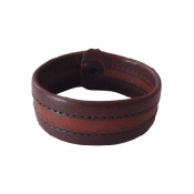 Bracelet reindeer leather Antik