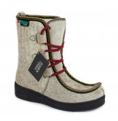 Artic Shoes Topaz Kuhfell Stiefel Oslo 60 grau