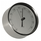 Delite barometer Mogens Clausen polished steel