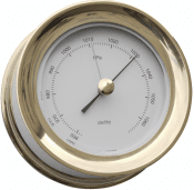 Delite Zealand Barometer Messing