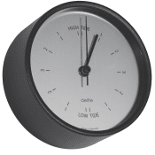 Delite Tide clock Clausen - Jessen black
