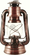 DIETZ Hurricane lanterns - copper colored 254 mm