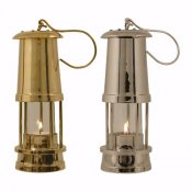 Delite Miner´s Lamp tealight brass