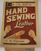 Book Hand Sewing Leather