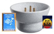 Hukka Saunamaestro the Sauna fountain with blue berry soap