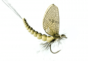 J:son Mayfly Olive Green 28 mm