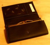 Wallet Leather of Moose small