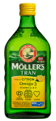 Möller´s Tran with citronarom 500 ml