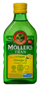 Möller´s Tran with citronarom 250 ml