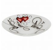 Nybro Crystal - Bowl Heart 70x390 mm