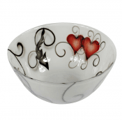 Nybro Crystal - Bowl Heart 115×210 mm