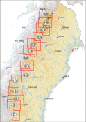Norstedts Outdoor map North Sweden 1:75.000