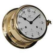 Schatz 1881 Royal 180 Glasenuhr mechanisch Messing arabisch