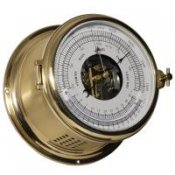 Schatz 1881 Royal 180 Kombi Barometer Thermometer Messing gebürs