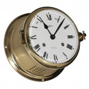 Schatz 1881 Royal 180 Glasenuhr mechanisch Messing 11 Edelsteine