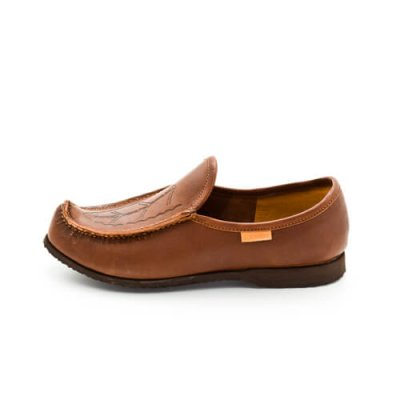 Reindeer leather Laponia loafers brown