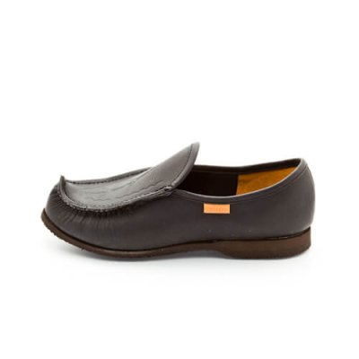 Reindeer leather Laponia loafers noir