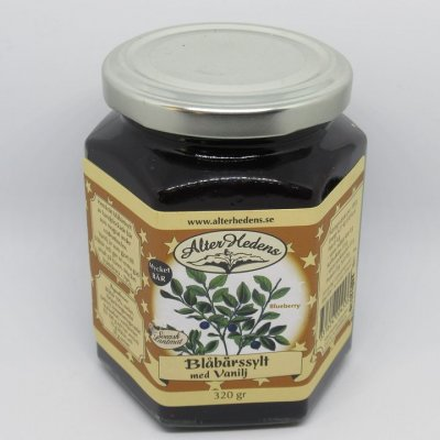 Alterhedens Blueberry jam 120 Gram 47% Fruit