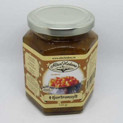 Alterhedens Cloudberry jam 120 Gramm 70% fruit