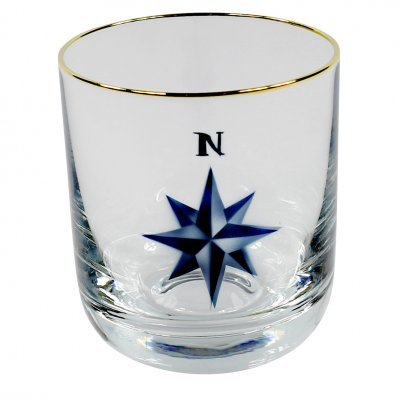 Nybro Crystal - Whiskyglas Kompass