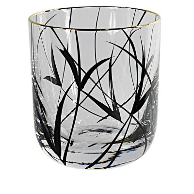 Nybro Crystal - Whiskyglas Simply Black