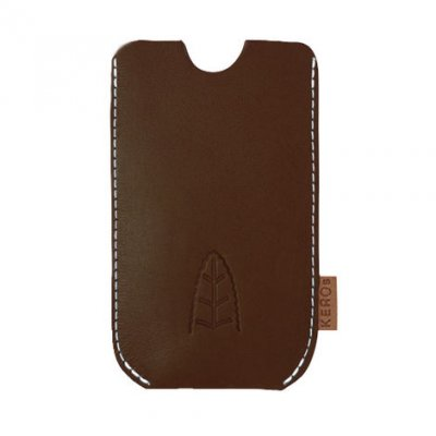 Rentierleder iPhone 5 Case Antik
