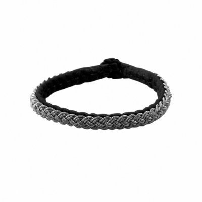 Sami jewelry pewter bracelet sunshine black
