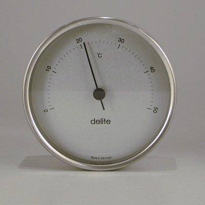 Delite Thermometer Mogens Clausen brushed steel
