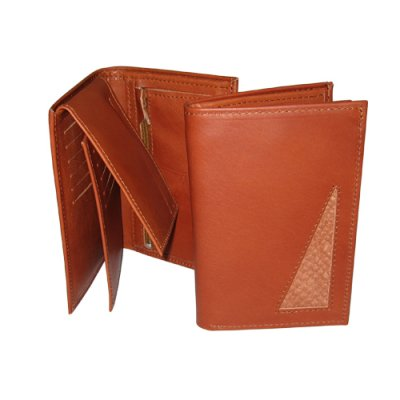 Wallet Leather of Reindeer Aslak 10 x 14 cm