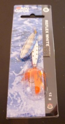 Abu Garcia Spinner Reflex White Flash 12g