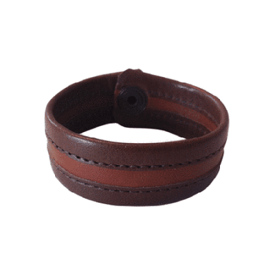 Bracelet leather Antik Zigge