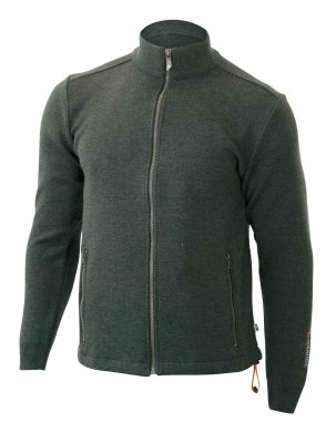 Ivanhoe of Sweden - Herrenstrickjacke Assar green