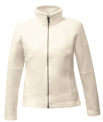 Ivanhoe of Sweden - Brodal felted cardigan for women white