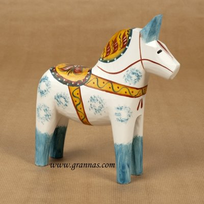 Dalahorse - Dalecarlian horse Antique 20 cm