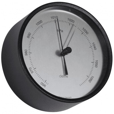 Delite Thermometer Mogens Clausen Black Sateen