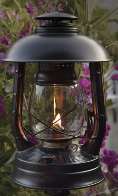 DIETZ Hurricane lanterns - Black Garden Lamp
