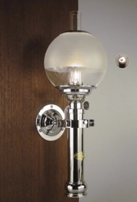 E. S. Sørensen Captain´s Cabin Lamp 230 V matt chrome