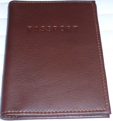 Leather of Moose Passport cover hand made