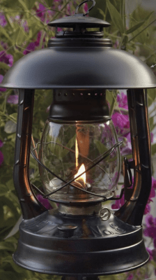DIETZ Hurricane lanterns - Replacement glass for Garden lamp