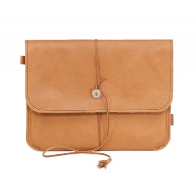 Rentierleder iPad Case braun
