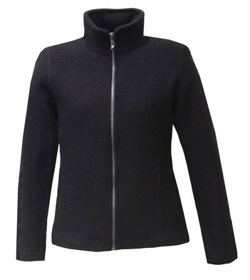 Ivanhoe of Sweden - Brodal felted cardigan for women black